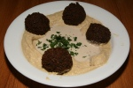 Doctor Laffa Hummus with Falafel $7.99