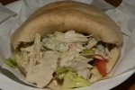 Doctor Laffa Chicken Shish Kabob Pita $6.99