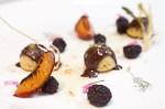 Plum / Fennel / Chocolate / Mulberries / Pistachio