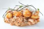 Spanner Crab & Eggplant Bolognaise / Potato Gnocchi / Ricotta / Oregano