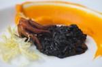 Octopus / Squid Ink Risotto / Butternut Squash / Saffron