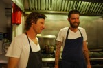 EL Ideas Chicago - Chefs Phillip Foss & Andrew Brochu – A lighter moment.