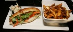 Pork Belly Bahn Mi $7.50 and Poutine $5.50