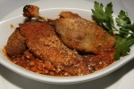 Cassoulet au Confit de Canard $18,00 Traditional white bean casserole with duck confit, pork sausage & smoked bacon
