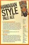 Spearhead Hawaiian Style Pale Ale [table card]