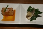 Daikon radish cake & dried barracuda