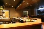 The expanded sushi bar