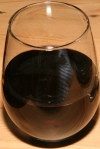 The County General Red WIne in Stemless Glass