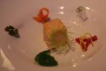 SCALLOP – fennel, orange, squid