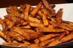 sweet potato fries, lightly coated and uncommonly crisp ($2.99)