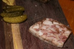 Terrine Board $16 – Head Cheese, Cochons