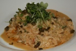 Crab Risotto/brown butter/preserved lemon/parsley/capers