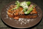 Beans on Toast with Thuet bread, bean ragu, Athena $7