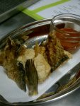 ©2011 YOURS TRULY Animal Crackers - Pork Crackle and Trout skin with Vinegar Chili dipping sauce