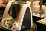 Thermomix will Mill, Grind, Pulverise, Grate, Knead, Mince/Cut/Chop, Prepare, Cook, Whip, Crush, Steam