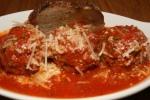 Pizzeria Libretto Danforth Spicy Meatballs tomato sauce, crostino & grana padano