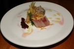 Raw - Hamachi, Housemade Miso, Pickled Ginger, Preserved Lemon and Kumquat, Buttermilk