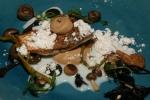 Redfish - hedgehog mushroom, brown butter, samphire, xeres vinegar