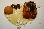Pork Belly - steelcut oats, banana pudding, black sesame, peanut