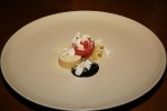 Caramelized Buttermilk - white chocolate, blood orange, olives