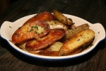 Duck fat roasted potatoes $6