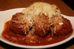 Spicy Meatballs tomato sauce, crostino & grana padano $9