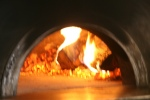 Pizzeria Libretto Danforth – décor – The wood burning pizza oven