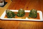 GOMAAE - Blanched spinach with sesame sauce