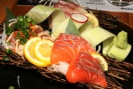 SASHIMI - B.C. Salmon, Yellowtail and seared B.C. Tuna