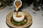 Alaskan King Crab - Chawanmushi, Pork Belly, Pickled Kombu & Dashi
