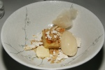 Maple Syrup - Smoked Burnt Ice Cream, Shortbread, Almond & Cotton Candy