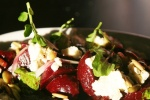 Roasted Beets $8.00, Ricotta, Pumpkin Seeds, Olive Vinaigrette