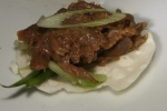 35. Peking duck confit