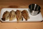 Gyoza $3.50 homemade pork dumpling