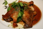 CUISSES de CANARD à La SARLADAISE – Duck leg confit with roast potatoes $19