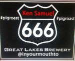 Ken Samuel Great Lakes Brewery Name Tag