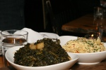 Braised Kale – yukon gold potatoes, pork drippings / Creamy Coleslaw – grainy mustard, sunflower seeds