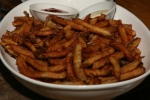 Smoked Pork Kennebec Fries – truffle aioli, ketchup