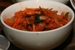 Kimchi Apple Salad – toasted cashews, house fermented cabbage