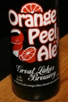 Great Lakes Brewery Orange Peel Ale