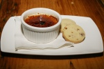 Earl Grey infused Crème Brûlée with Shortbread Cookies