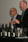 Bill Redelmeier, Southbrook Vineyards Proprietor and Ben Hodson from Trialto Wine Group