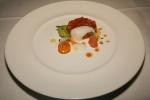 B.C. Steelhead Trout, Avocado, Grapefruit & Crab Emulsion