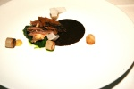 Roasted Rouge Farm Duck Confit, Daikon, Spinach, Preserved Meyer Lemon & Ginger Duck Jus