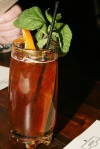 Pimms Cup - Pimms # 1, Ginger Brew, Triple Sec, Cucumber, Mint