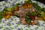Pork Terrine, Baguette, Piccalilli, Watercress