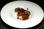 Quail Amatriciana - tomato, red onion, pancetta, artichoke 'alla romana'