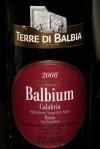 2008 Balbium Calabria Rosso