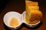Acadia's Cornbread - sweet potato & bourbon butter