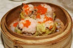 Steamed Shrimp & Pork Siu Mai with Conpoy
